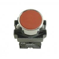 Buton cu revenire Freder 32-750, rosu, contact normal inchis, IP40