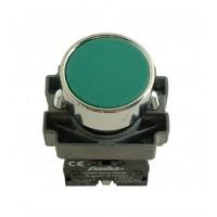 Buton cu revenire Freder 32-751, verde, contact normal deschis, IP40