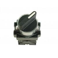 Intrerupator rotativ cu retinere 1 - 0 - 2 Freder 32-771, 2 contacte normal deschise, IP40