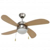 Lustra cu ventilator, 3 viteze, Hoff, 1 x E27