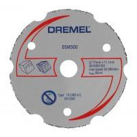 Disc debitare lemn, Dremel DSM500, 20 x 2 mm