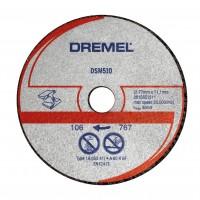 Disc debitare metal si plastic, Dremel  DSM510, 20 x 2 mm