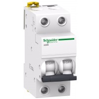 Intrerupator automat modular Schneider Electric iK60 A9K24220, 2P, 20A, curba C