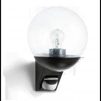 Aplica exterior 005535 cu senzor de miscare infrarosu L 585, neagra