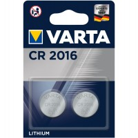 Baterie Varta Electronics CR2016 6016, 3V, litiu tip buton, 2 buc