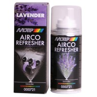 Odorizant auto spray pentru aer conditionat, Motip, aroma lavanda, 150 ml