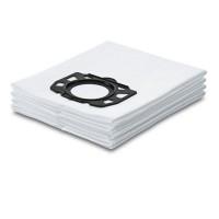 Saci aspirator WD4/WD5/WD6 Karcher 2.863-006.0, fleece, pachet 4 bucati