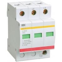 Descarcator la supratensiuni IEK OPS1-B, 3 poli, 30kA