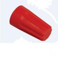 Cleme legatura torsiune 4 - 11 mmp, rosii, 100 bucati