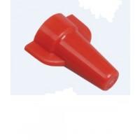 Cleme legatura torsiune 3 - 10 mmp, rosii, 100 bucati