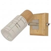 Aplica Aldo KL 9110, 1 x E14, lemn natur + alb