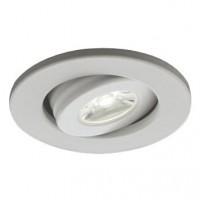 Spot LED incastrat MT 119 70324, 1W, lumina neutra, orientabil, alb mat