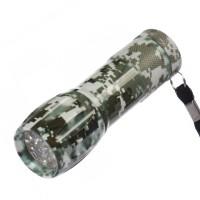 Lanterna LED camuflaj Hoff, alimentare baterii (3 x AAA)