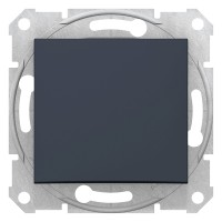 Intrerupator simplu Schneider Electric Sedna SDN0100170, incastrat, grafit