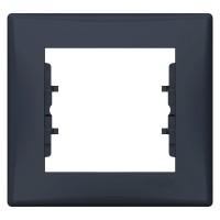 Rama Schneider Electric Sedna SDN5800170, 1 post, grafit, pentru priza / intrerupator
