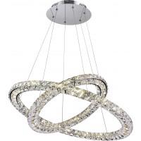 Suspensie LED Marilyn 67037-60, 60W, cristal