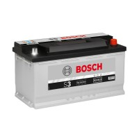 Baterie auto Bosch S3 013 12 V, 90,Ah, 720A, 35.3 x 17.5 x 19 cm