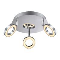 Plafoniera LED Orell 56107-3, 3 x 5W