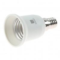 Adaptor dulie E14 - E27 metal si plastic 00-850/1427