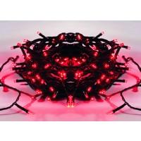 Instalatie brad Craciun, Hoff, 60 LED-uri rosu, 5.9 m, controler, interior / exterior