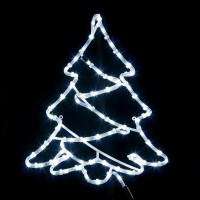 Decoratiune luminoasa cu 72 LED-uri albe cu lumina rece constanta, Hoff, diverse modele