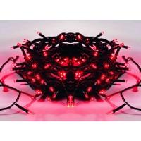 Instalatie brad Craciun, Hoff, 180 LED-uri rosii, 17.9 m, controler, interior / exterior