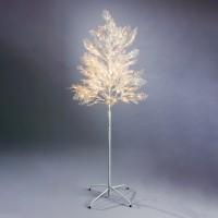 Copac cu 120 LED-uri albe, Hoff, 150 cm, alimentare priza
