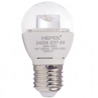 Bec LED Hepol mini E27 6W 500lm lumina calda 3000 K