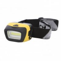 Lanterna LED frontala Hoff, alimentare baterii (3 x AAA), 3W, 100 lm