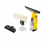 Aspirator geamuri Karcher WV 2 Premium 1.633-487.0, acumulator, 0.10 l, indicator LED, golire rapida, galben
