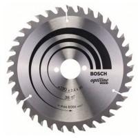Disc circular, pentru lemn, Bosch Optiline, 2608640616, 190 x 30 mm