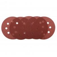 Disc abraziv cu autofixare, pentru slefuire lemn / metale, Bosch 2609256A18, 115 mm, granulatie 120, set 5 bucati