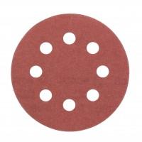 Disc abraziv cu autofixare, pentru slefuire lemn / metale, Bosch 2609256A19, 115 mm, granulatie 180, set 5 bucati