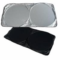 Parasolar auto cu arcuri, pentru parbriz + luneta, Ro Group, 140 x 70 cm