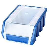 Cutie pentru depozitare, Patrol Ergobox 2 Plus, albastru, 161 x 116 x 75 mm