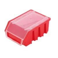 Cutie pentru depozitare, Patrol Ergobox 2 Plus, rosu, 161 x 116 x 75 mm