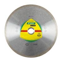Disc diamantat, continuu, pentru debitare placi ceramice, Klingspor DT 600 F Supra, 180 x 22.23 x 1.6 mm