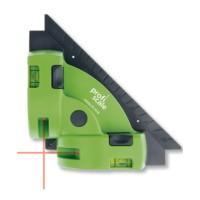 Nivela cu laser pentru pardoseala, cu linii, cu bula, Burg Wachter PS 7510, cu 2 indicatori