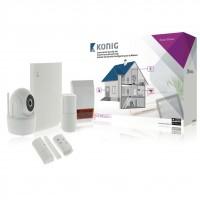 Set securitate wireless smart Konig SAS-CLALARM10