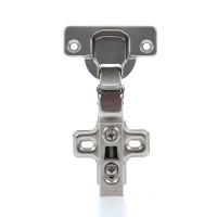 Balama aruncatoare cu amortizor si placuta, pentru mobila, 17 mm