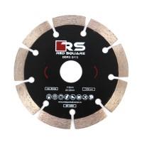 Disc diamantat, cu segmente, pentru debitare beton, Red Square DDS115, 115 x 22.2 x 1.9 mm