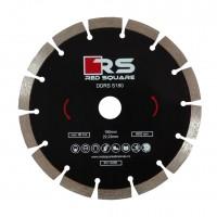 Disc diamantat, cu segmente, pentru debitare beton, Red Square DDS180,180 x 22.2 x 2.4 mm