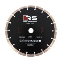 Disc diamantat, cu segmente, pentru debitare beton, Red Square DDS230, 230 x 22.2 x 2.7 mm