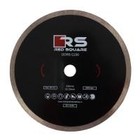 Disc diamantat, continuu, pentru debitare placi ceramice, Red Square DDC230, 230 x 22.23 x 2.7 mm