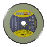 Disc diamantat, continuu, pentru debitare placi ceramice / marmura / sticla / piatra, Lumytools LT08746, 200 x 25.4 x 2.5 mm