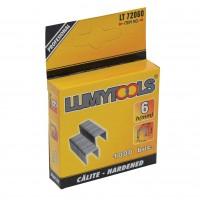 Capse tapiterie, 6 mm, Lumytools LT72060, set 1000 bucati