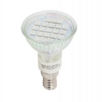 Bec LED Hepol spot R50 E14 3W lumina verde