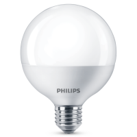 Bec LED Philips glob G93 E27 9.5W 806lm lumina calda 2700 K
