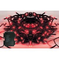 Instalatie brad Craciun, Hoff, 60 LED-uri rosii, 5.9 m, controler, interior / exterior, alimentare baterii
