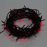 Instalatie brad Craciun, Hoff, 120 LED-uri rosii, 11.9 m, controler, interior / exterior